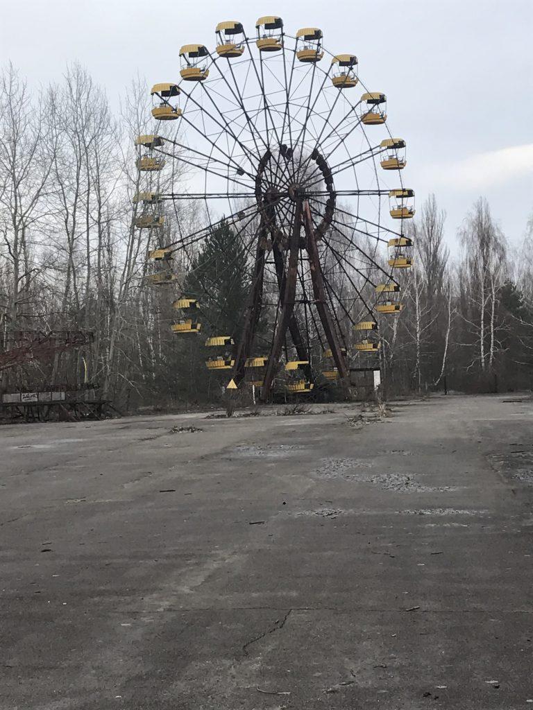 Das gelbe Riesenrad: Wahrzeichen des menschenleeren Pripyats